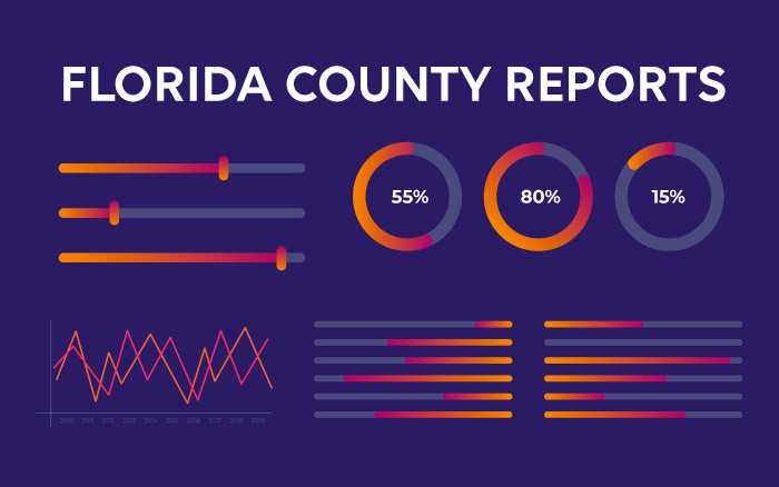 Florida County Reports Graphic Image
